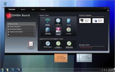 Toshiba Media Controller, ReelTime and Bulletin Board Software