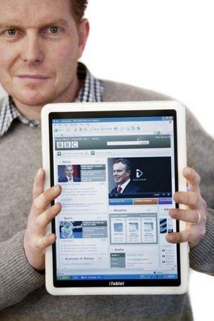 X2 iTablet Windows 7 Tablet - Gadget Gram