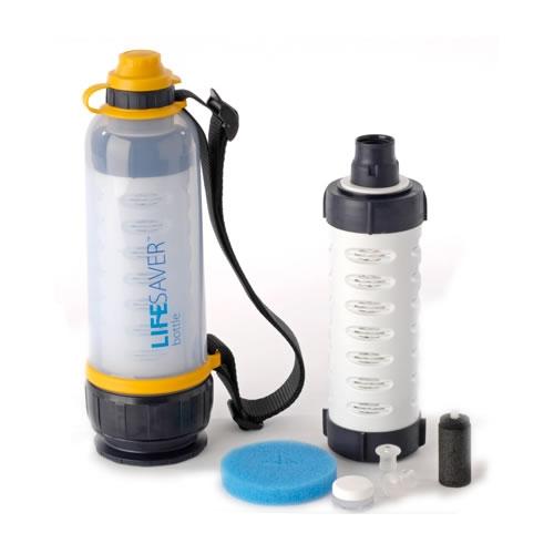 8cd7b08fa0 Lifesaver Water Bottle cleans away all debris