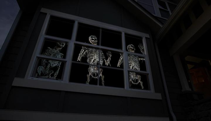 . Halloween Haunts Go High Tech with AtmosFX Digital Decorations