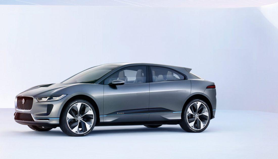 Jaguar I Pace Is Electric