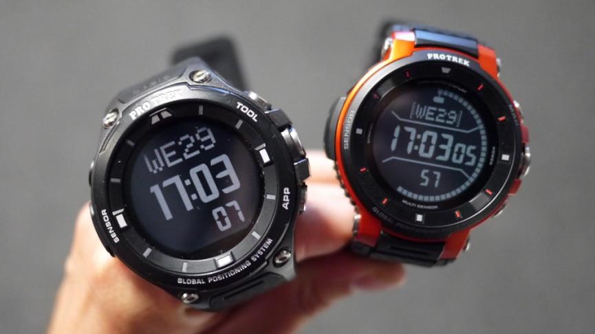 Casio Pro Trek WSD-F30 Wear OS Sports Smartwatch Review