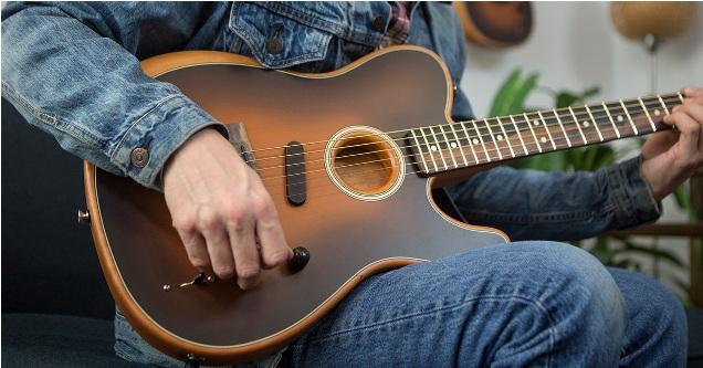 Fender Acoustasonic Telecaster Mimics Acoustic Guitar