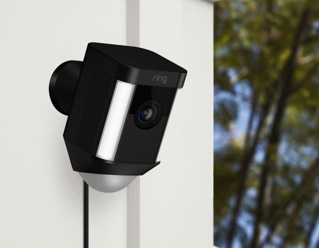 Ring Spotlight Cam Wired Security Cameras Review