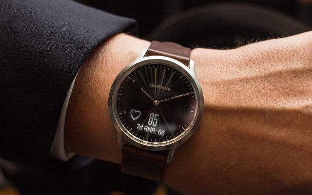 Garmin Vivomove HR Smartwatch - Luxury Fitness Tracker