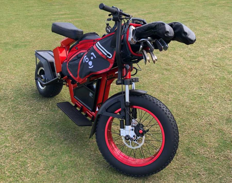 Finn Scooters – Sun Mountain Motor Sports Electric Golf Cycle
