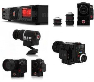 Red Ray Pro Red Pime Lenses Red Bomb EVF Red Scarlet 8x Red 2-3 Removable