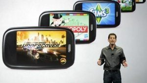 Palm webOS 3D games EA  Gameloft  Glu Mobile and Laminar Research