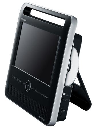 Toshiba Portaro SD-P12DT Portable DVD Player
