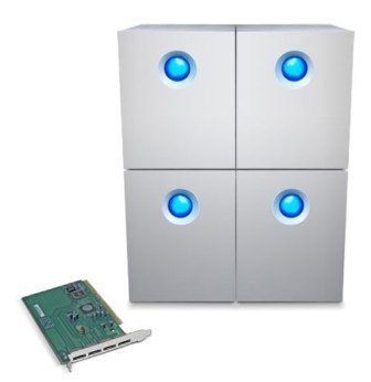 LaCie Quadra Enterprise Storage Solutions 3