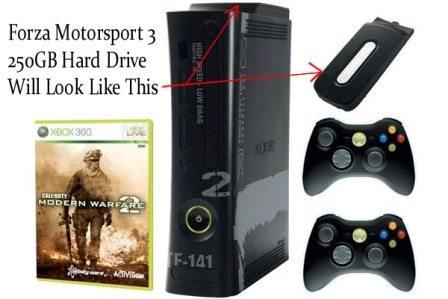 Microsoft Xbox 360 250GB HDD 3