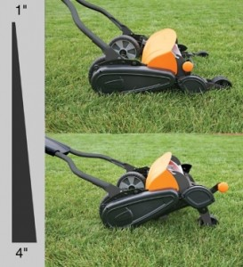 Momentum Reel Push Mower Stores Energy for More Cutting Power 2