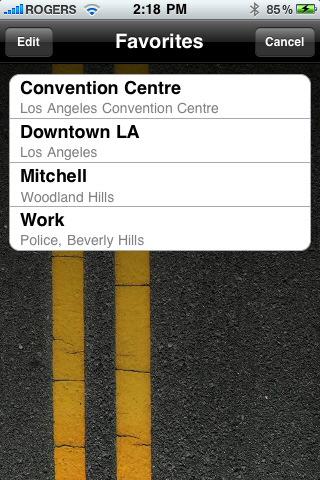 iSpotSwap Parking Spot Finder for iPhone 3