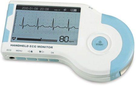 Hammacher's Portable EKG Device Monitor