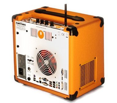 Orange Amps launches the All-in-one computer amplifier speaker _ The OPC 2