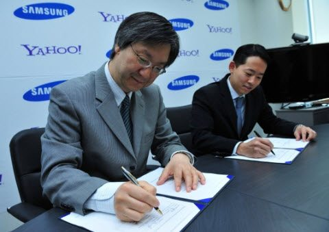 Yahoo To Be Official Search Engine For Samsung Mobile Phones 2