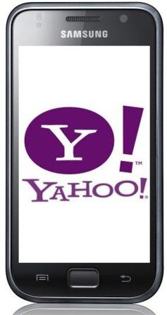 Yahoo To Be Official Search Engine For Samsung Mobile Phones