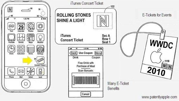 iPhone Patent Expands into Concert Ticket Sales