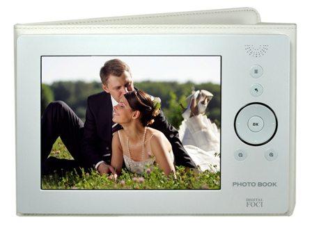 Digital Foci Ships Digital Photo Book in Elegant Pearl White for Weddings