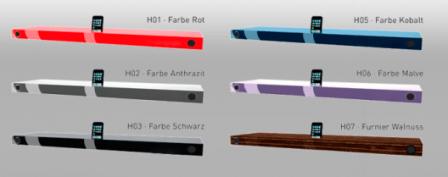 Finite Elemente Hohrizontal 51- Media Shelf Docking Station 3