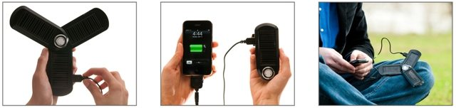 Kiwi Choice U-Powered Solar & USB Charger