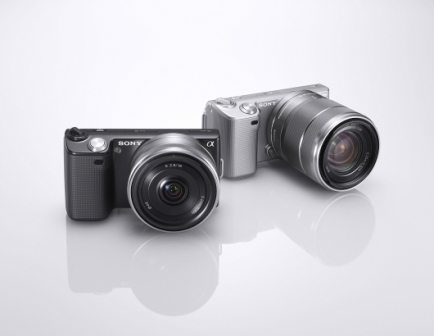 Sony Announces two new DSLRs, the NEX-5 and NEX-3 2