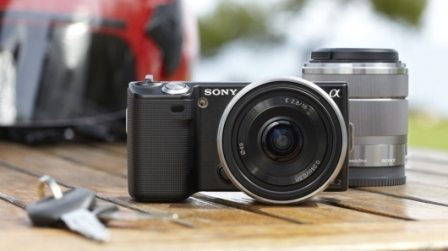 Sony Announces two new DSLRs, the NEX-5 and NEX-3