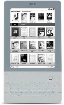 Acer enters e-Reader arena with LumiRead 3
