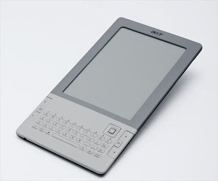 Acer enters e-Reader arena with LumiRead