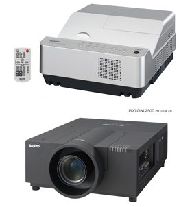 Sanyo Shed Light on Projection Technology