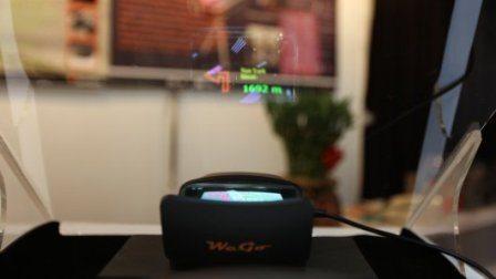 Springteq WeGo in car Heads Up Display Navigator 3