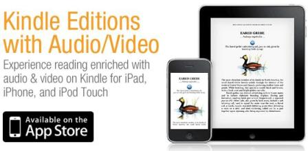Kindle Adds Audio And Video