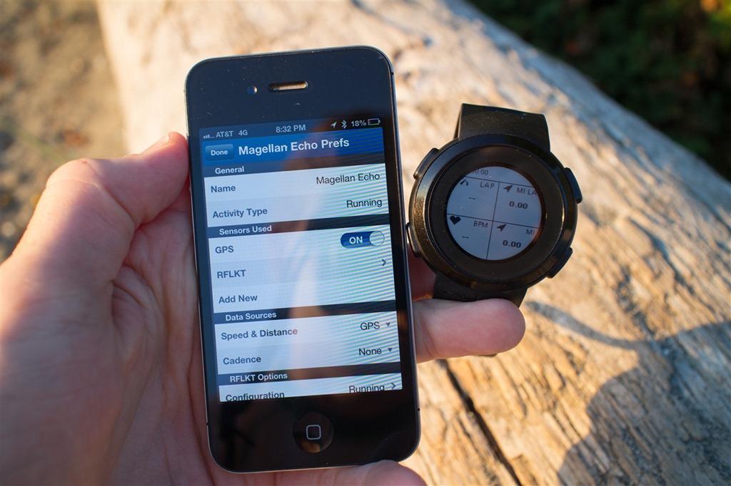 Echo Runner's Smartwatch 3