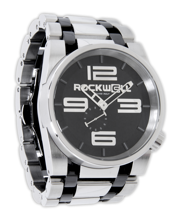 Rockwell 50mm Silver Ceramic
