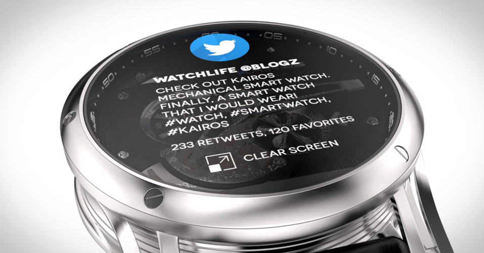Kairos Smartwatch Hybrid 4