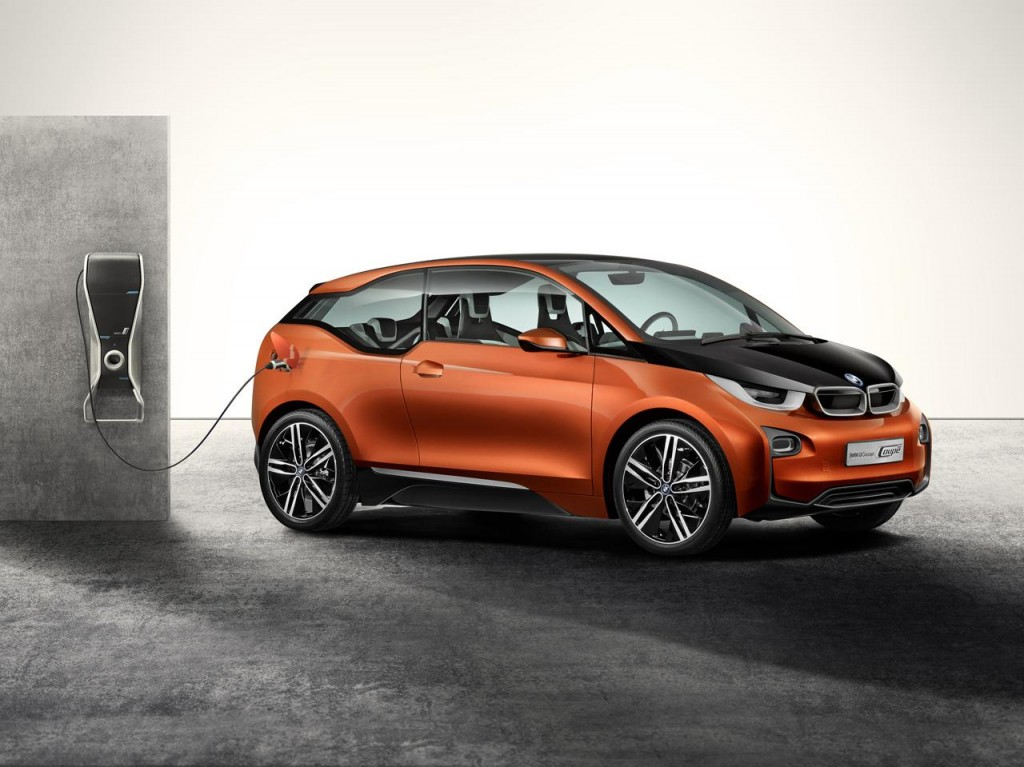 New high tech electronic BMW i3 5