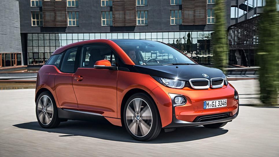 New high tech electronic BMW i3