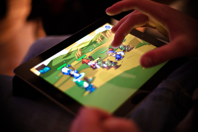 mobile gaming apps are becoming the new platform for gaming