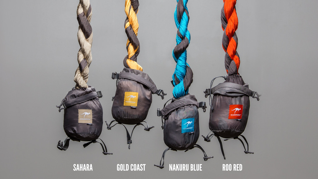 Kammok Roo comes in various colors