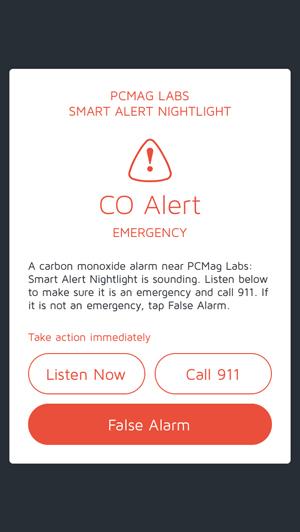 Leeo Smart Alert Nightlight acts like a smoke detector