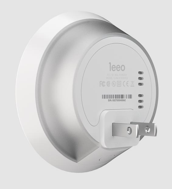 Leeo Smart Alert Nightlight is slim