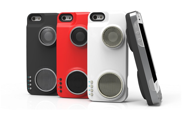 Peri Duo- case, battery and speaker in one