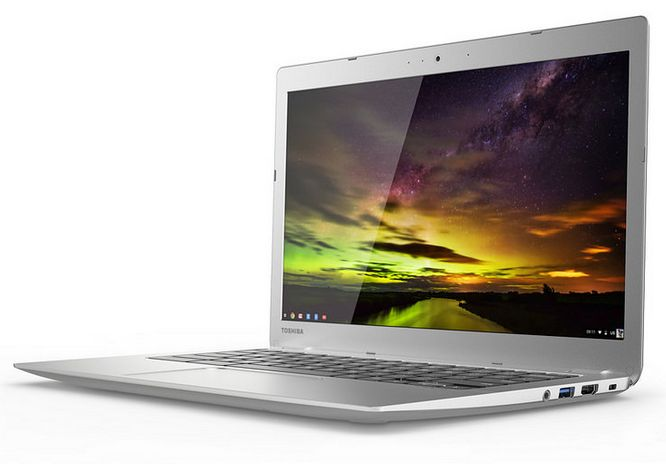 Toshiba Chromebook 2 is thinner than first