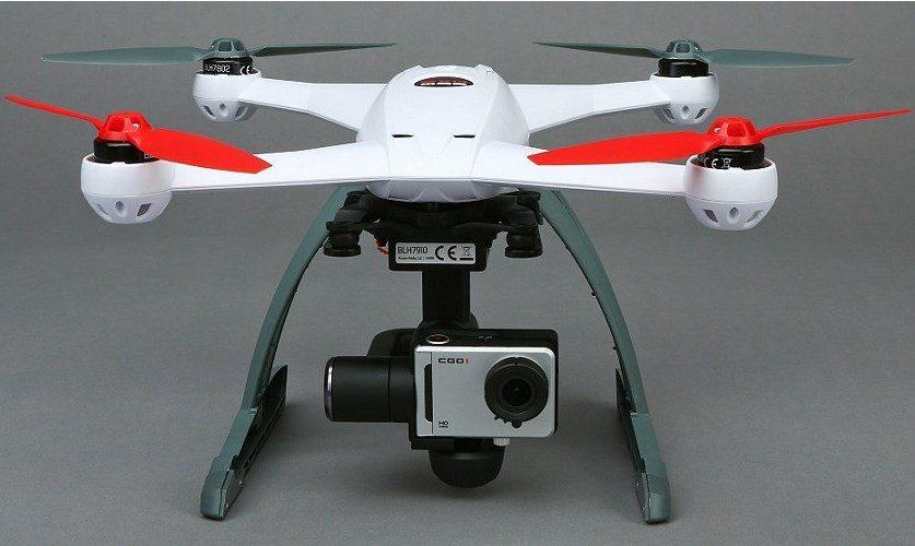 Blade 350 QX AP Combo RTF Drone has an HD 1080p/30FPS camera