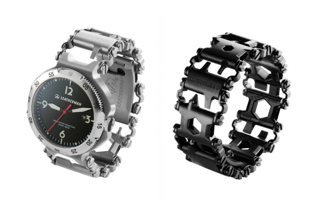 Leatherman Tread will also come in a watch version