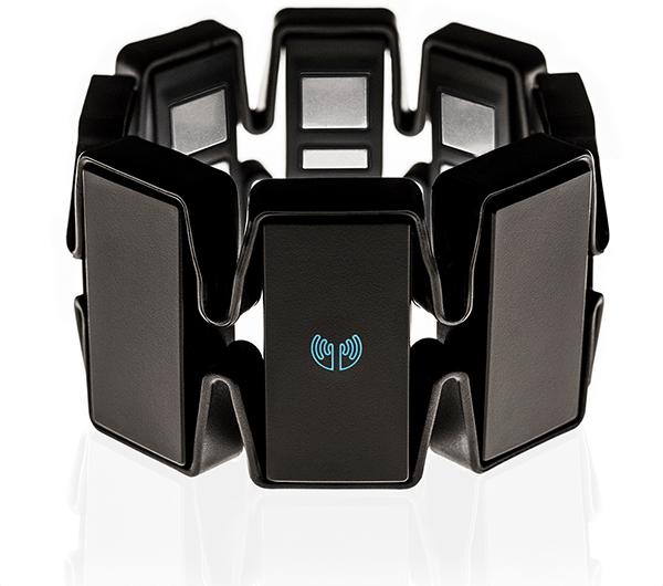 Myo Muscle-Sensing Armband has accelerometer