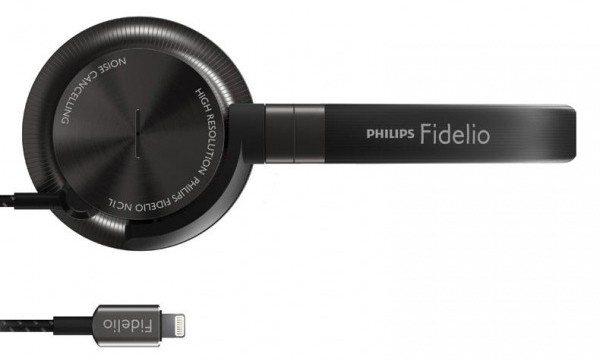 Philips Fidelio NC1L Headphones with lightning adaptor