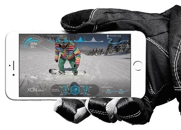 XON Snow-1 Bindings by Cerevo has great app
