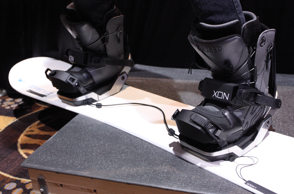 XON Snow-1 Bindings by Cerevo works with any snowboard