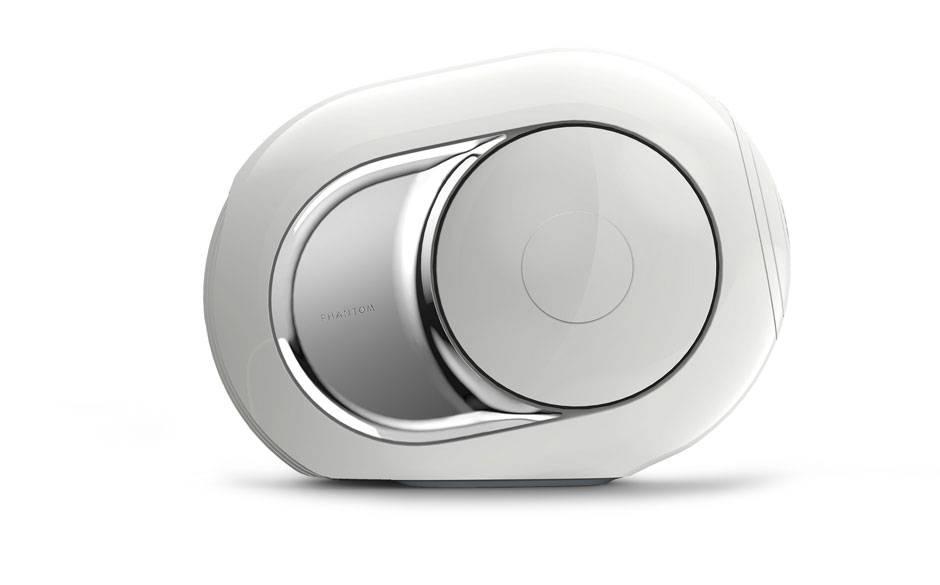 Devialet Phantom Speaker has spherical chamber